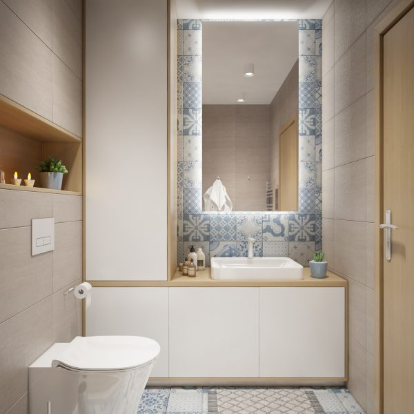 Bathroom in Sofia, Bulgaria.